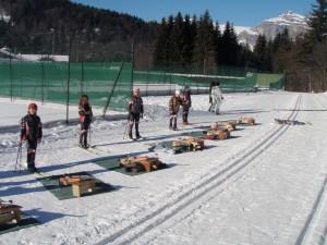 Les Houches Biathlon range