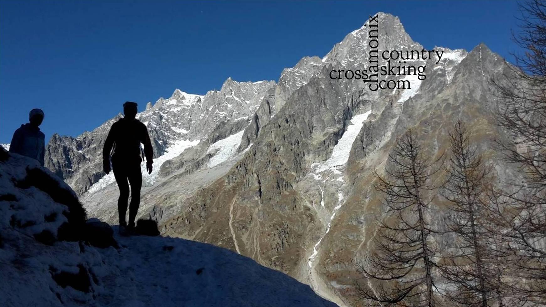 Sortie trail chamonix-cross-country-skiing.com