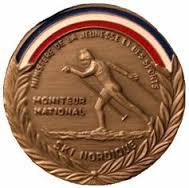 Médaille Moniteur National Ski de Fond