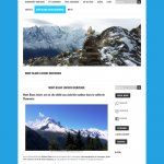 Site internet MontBlanc Loisirs.com