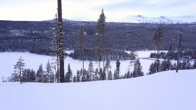Lac geler de Dalseter
