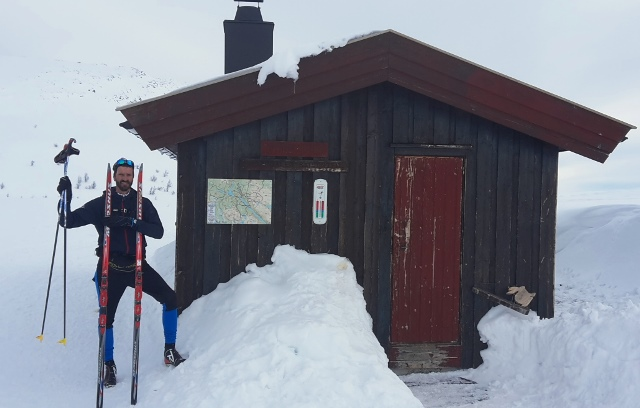 Many skiers shelters along the Peer Gynt Trail