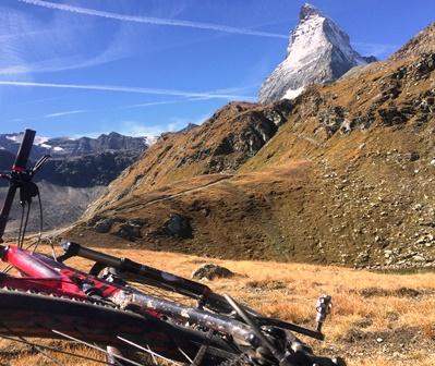 Vtt chamonix-Zermatt