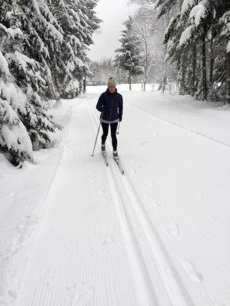 Building ski skills on nordic skis