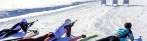 cours de biathlon à Chamonix